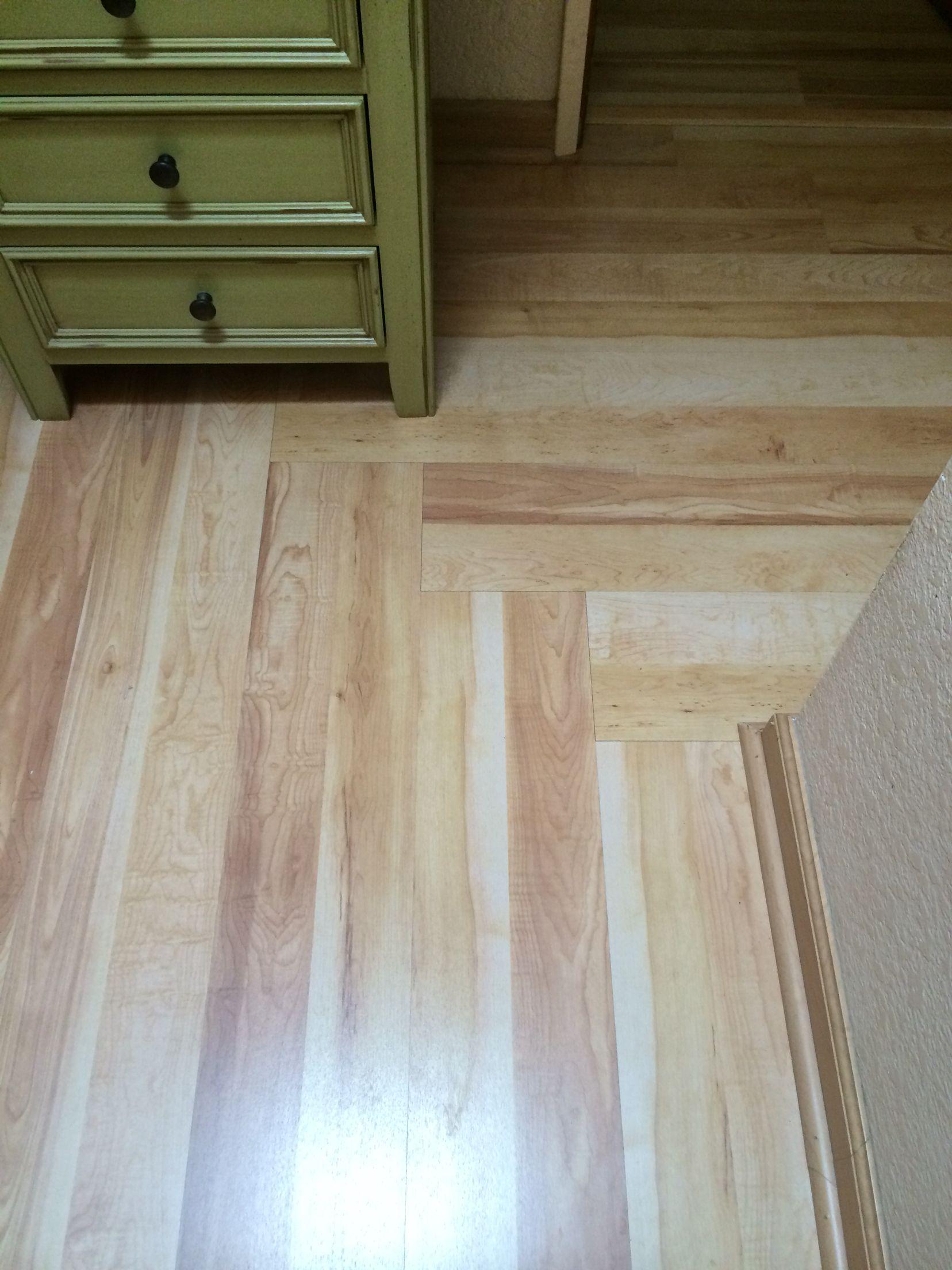 laminate flooring in hallway changing