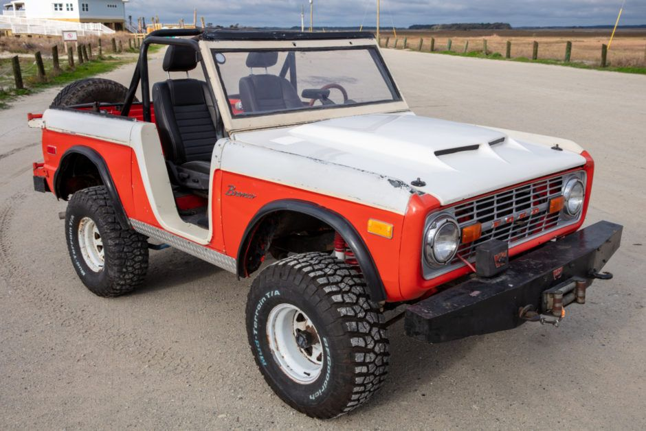 The 2021 Ford Bronco In Vintage Bronco Paint Colors and
