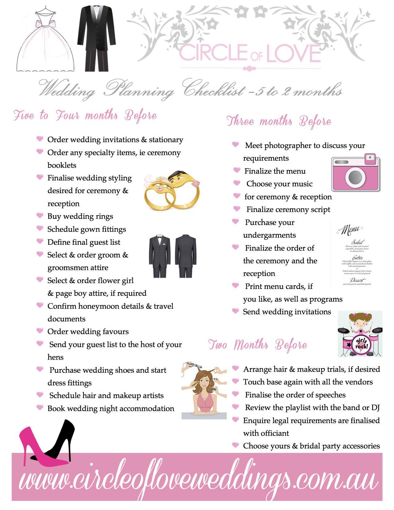 wedding planning checklist printable happywinner co