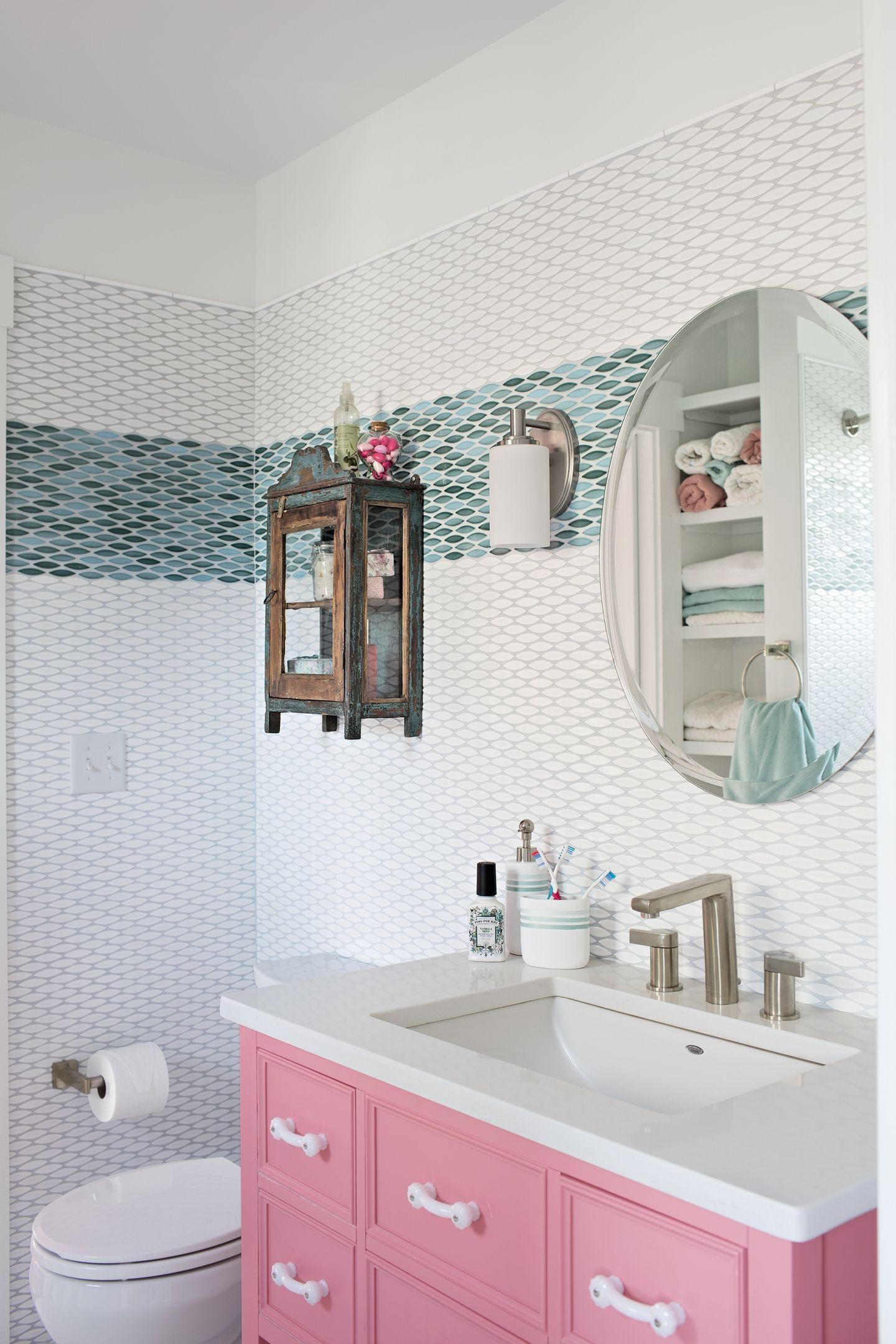 Highenergy color makes for fun interiors quartz vanity tops