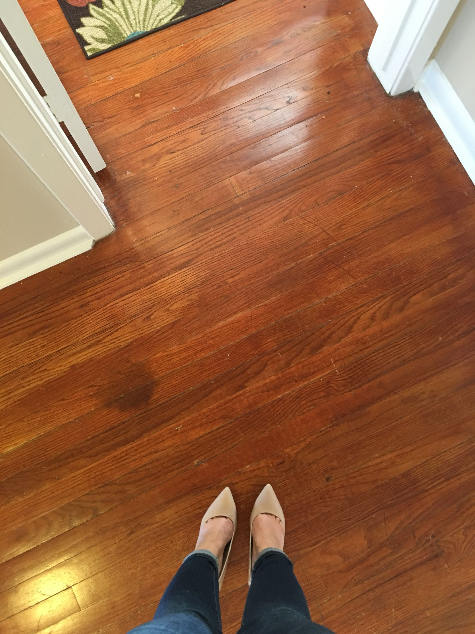 Original Hard Wood Floors Absolutely Gorgeous Let Me Know If You Would Like To See The Rest Of This 1950 S Bungalow Tucked In Heart Shepard