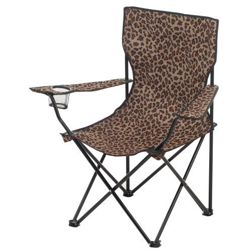 Strange Just Ordered Leopard Print Chair Metal Folding Chairs Beatyapartments Chair Design Images Beatyapartmentscom