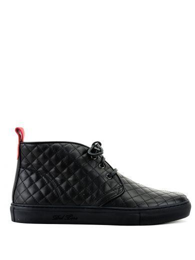 DEL TORO Black Quilted Chukka Boots. #deltoro #shoes #https:   Del ... : del toro quilted chukka - Adamdwight.com