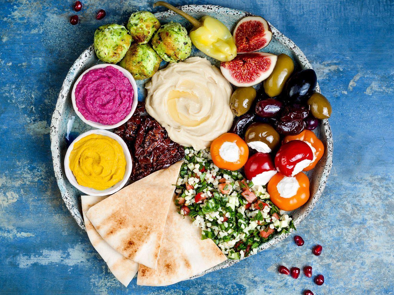 Levante-Küche: Abnehmen mit Kulinarik aus dem Morgenland in 16