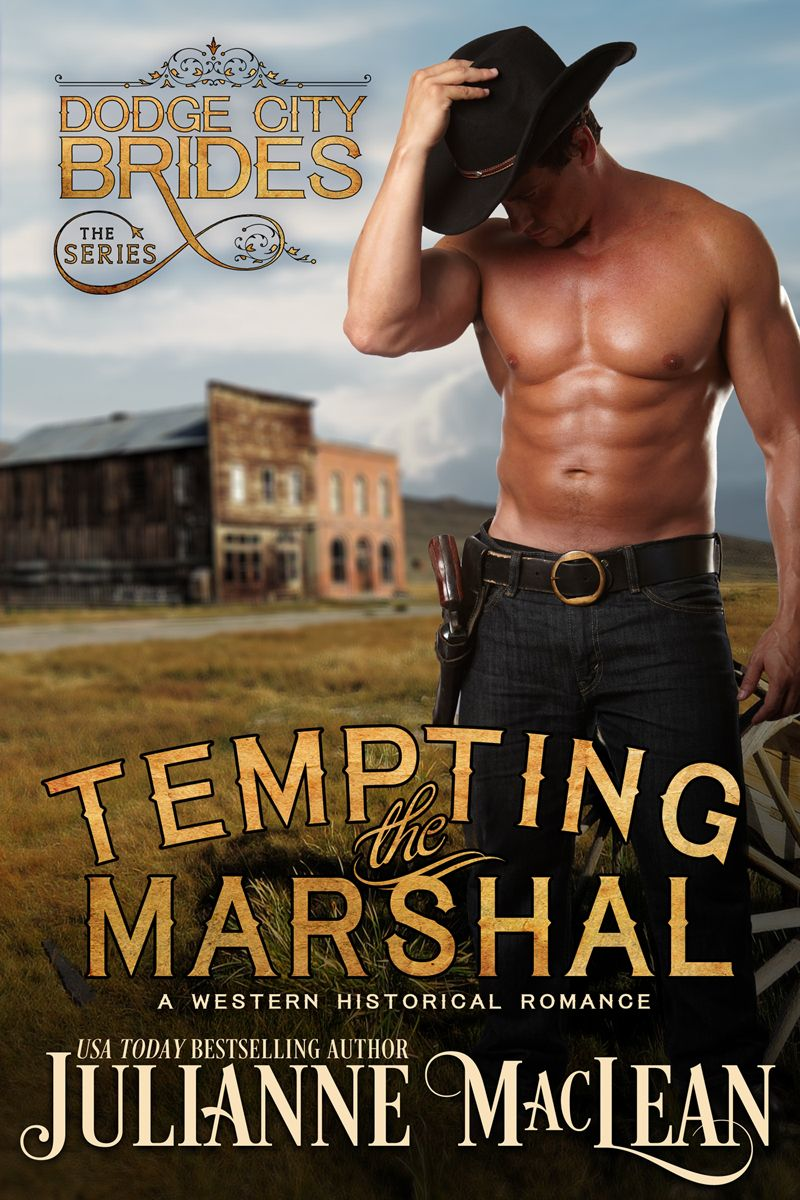 Tempting the Marshal by Julianne Maclean Cowboy romance