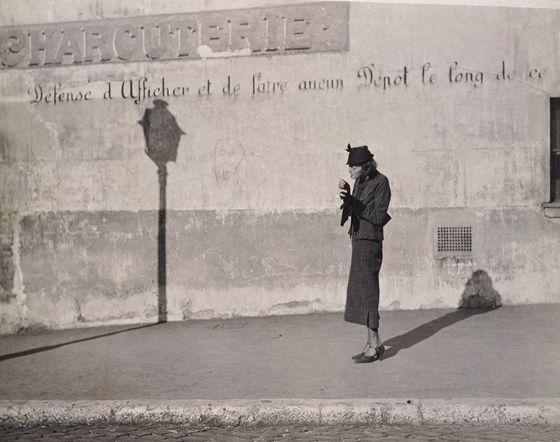 Marianne Breslauer, La Cigarette, 1929