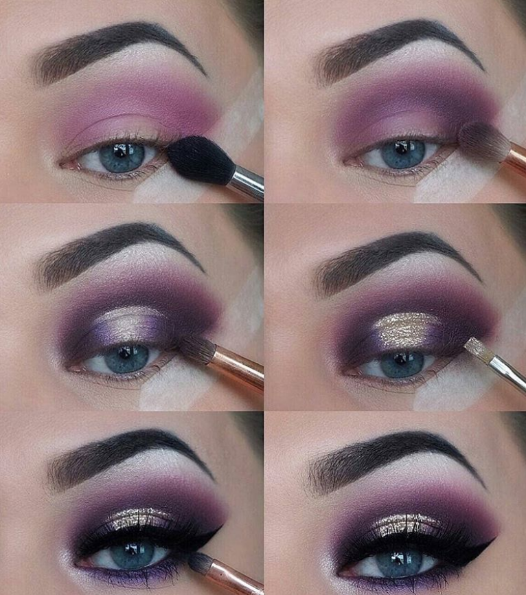 60 Easy Eye Makeup Tutorial For Beginners Step By Step Ideas(Eyebrow& Eyeshadow) – Page 36 of 61 – Latest Fashion Trends For Woman