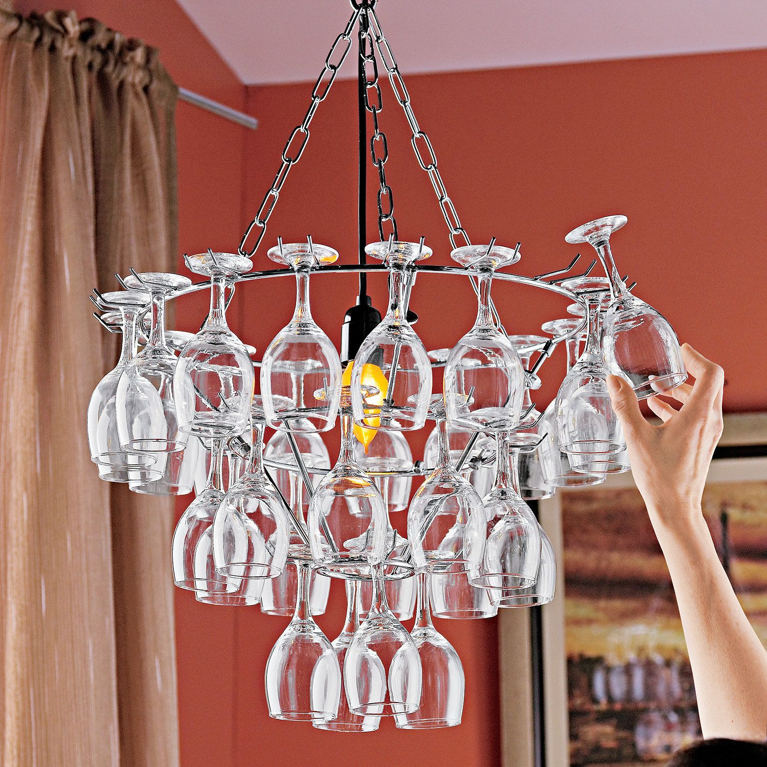 Interior Designs Stunning How To Make Your Own Chandelier Ideas