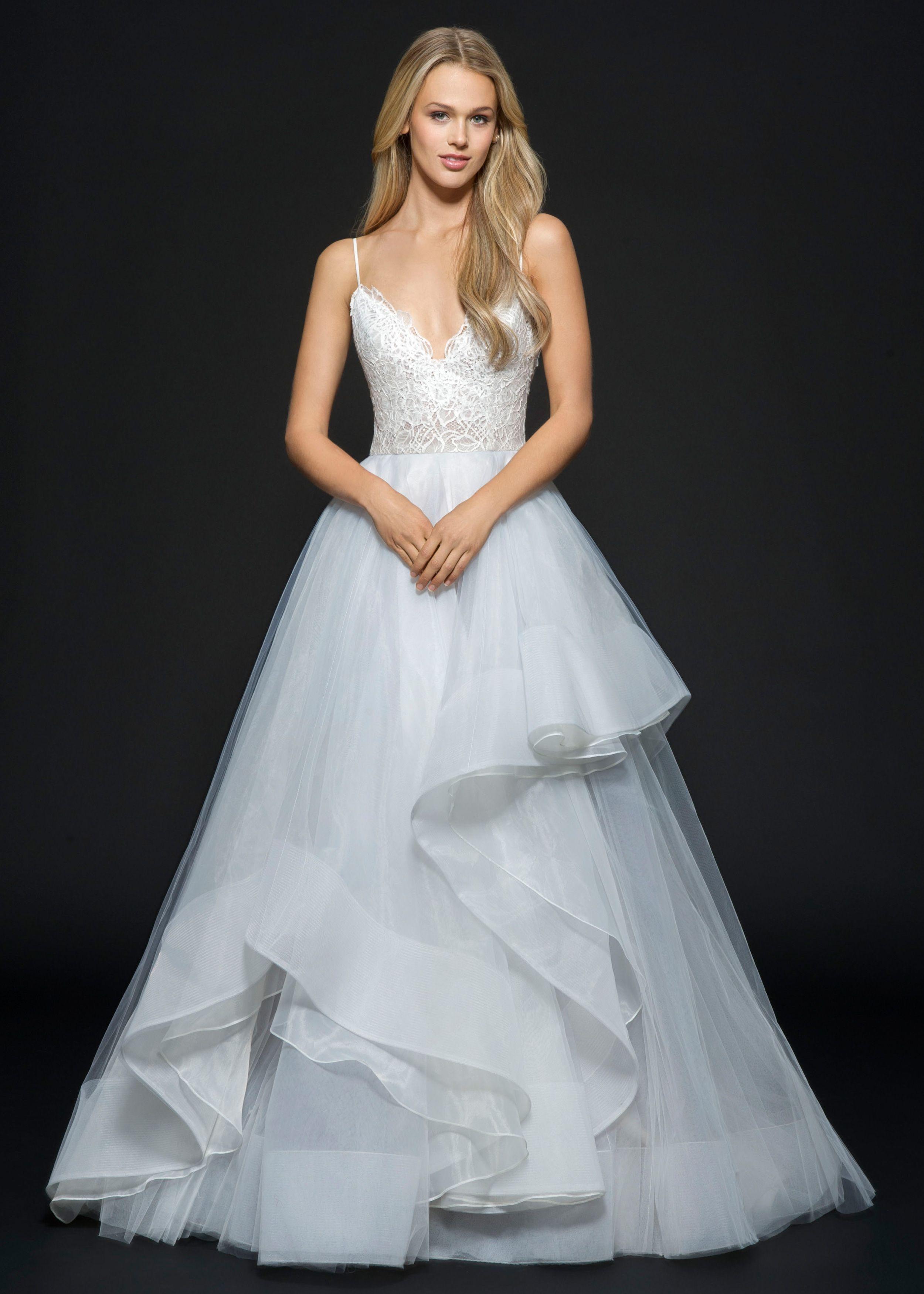 Hayley Paige Bijou gown   Lovedheysaxobeat   Pinterest   Hayley ...