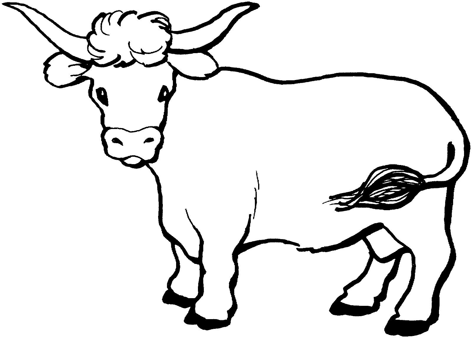 Pin By Birgit Keys On Clip Art Cute Cow Coloring Pages Coloring