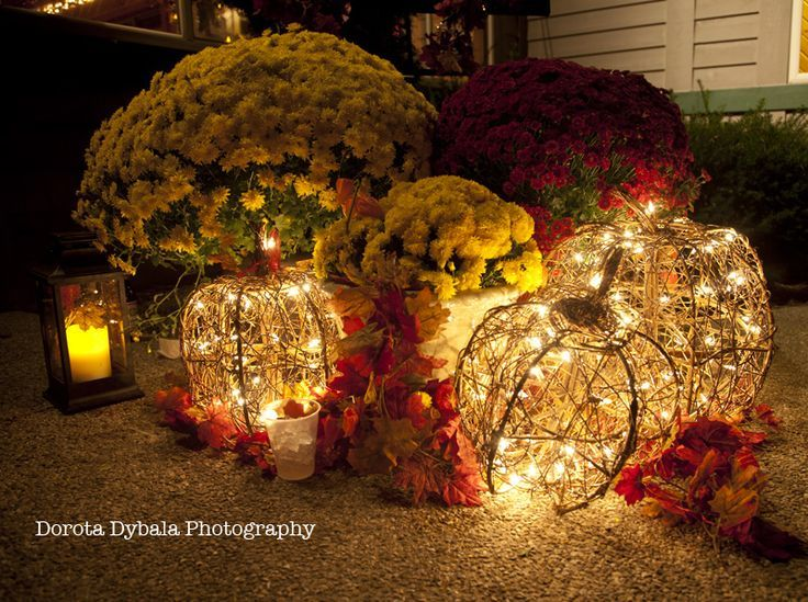 Fall Table Centerpiece Wedding Ideas: Weddings Outside During The Fall