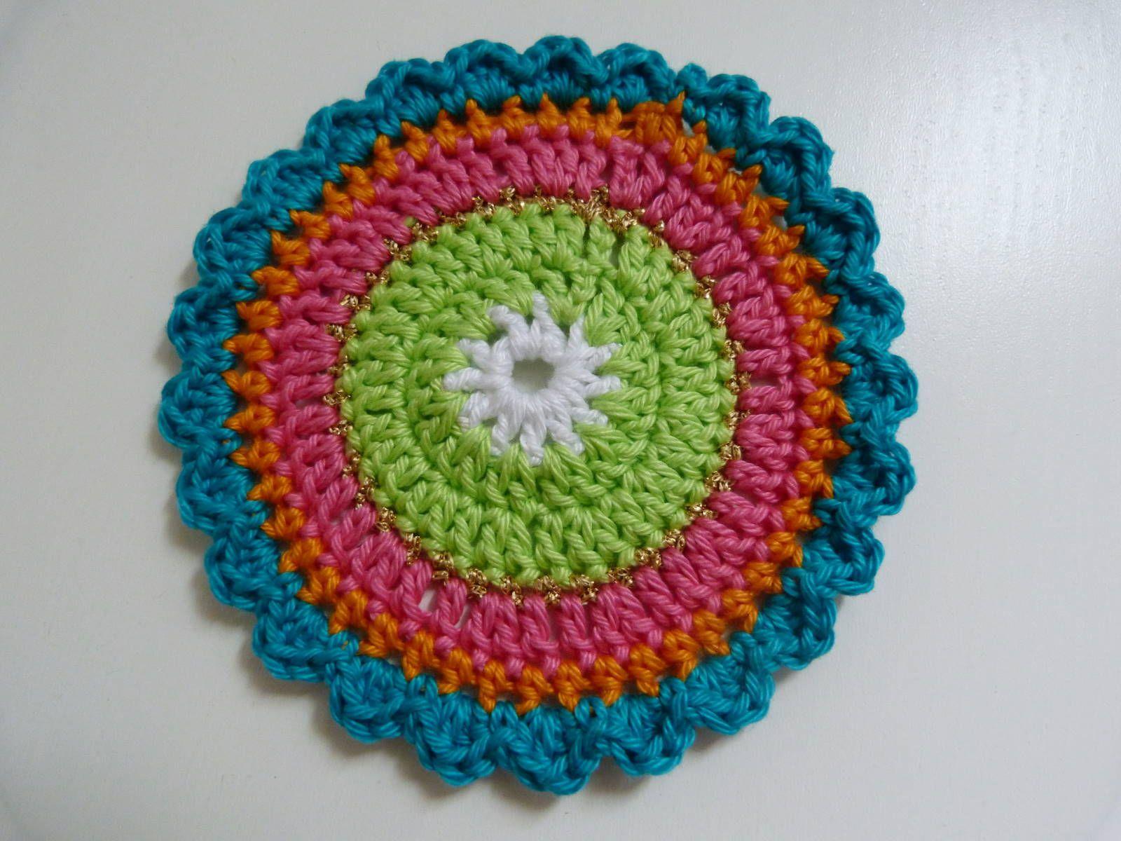 Ilonas Blog Oilily Onderzetters Haken Patroon Crochet
