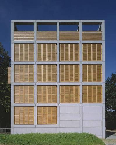 reichel architekten housing offices kassel 1998 99. Black Bedroom Furniture Sets. Home Design Ideas
