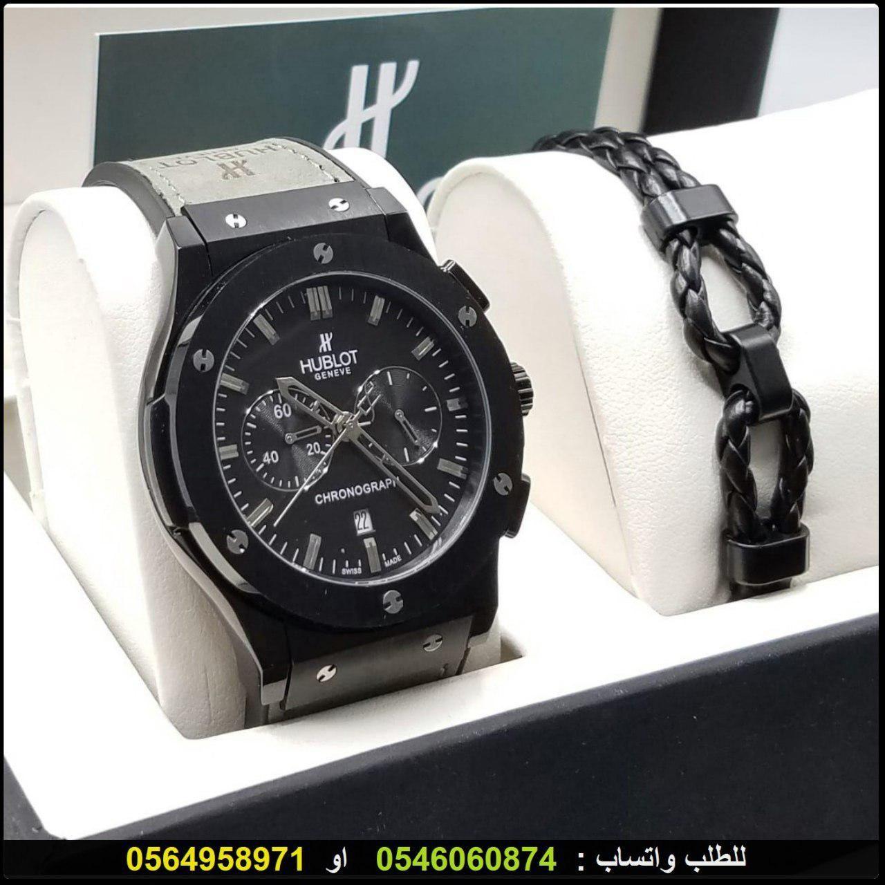 ساعات هوبلت رجالي Hublot درجه اولى مع اسواره شكل هوبلت فخمه هدايا هنوف Casio Watch Watches Casio