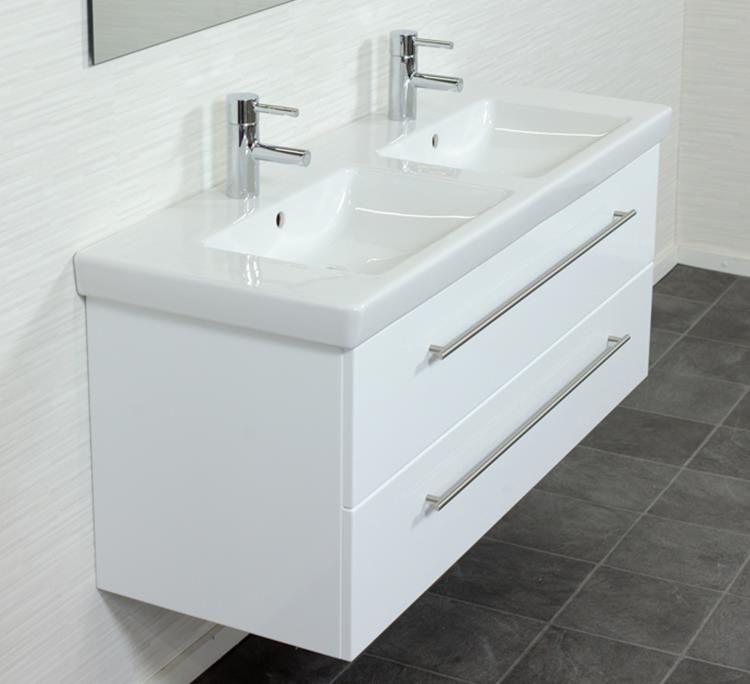 Badmeubel Villeroy en Boch Subway 20 130 cm Wit Ideeën voor het - badezimmermöbel villeroy und boch