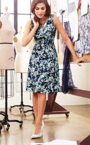 Feminine spring collection of Eva Mendes…