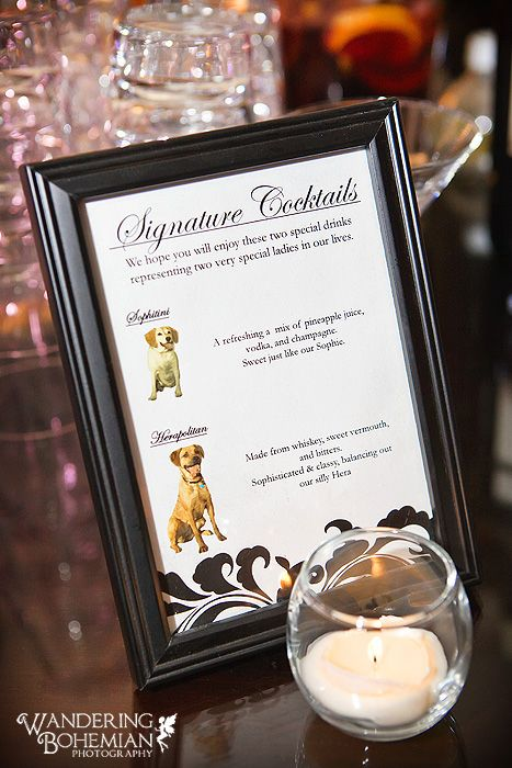 Signature Drinks Named After Your Dogs 3