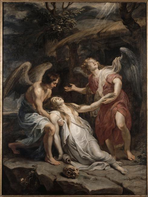 Extase de Marie-Madeleine Rubens Pierre Paul (1577-1640) Lille, Palais des Beaux-Arts - Réunion des Musées Nationaux-Grand Palais -