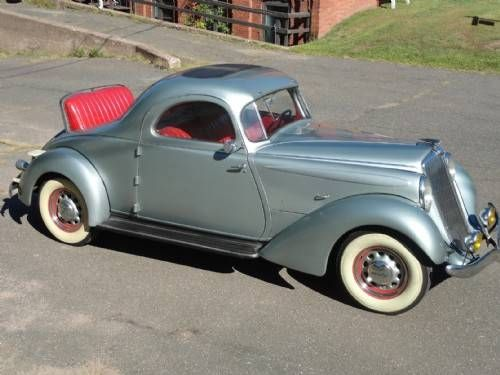 1935 Hupmobile Coupe With Images Vintage Cars