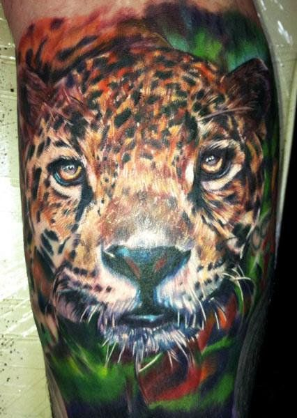 Realism Animal Tattoo by Ron Russo - http://worldtattoosgallery.com/realism-animal-tattoo-by-ron-russo-3/