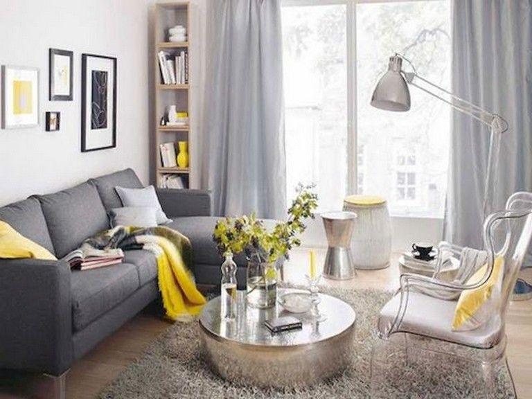 50 Admirable Modern Small Living Room Decor Ideas Livingroomideas Livingroomdecor Livingroomde Small Living Room Design Living Room Grey Yellow Living Room