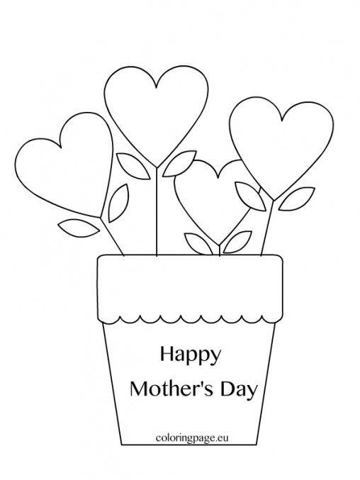 Mother S Day Coloring Page Festa Della Mamma Segnaposto Matrimonio Cose Per La Scuola