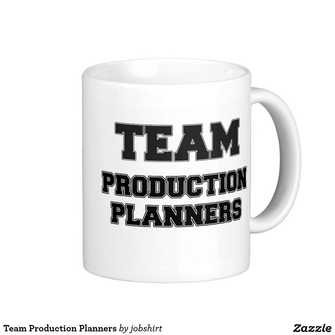 Team Production Planners Classic White Coffee Mug