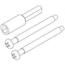 2 1 4 Thick Door Installation Kit For All Kwikset Security 660 Single Cylinder Deadbolts Door Kits Doors Mortise Lock