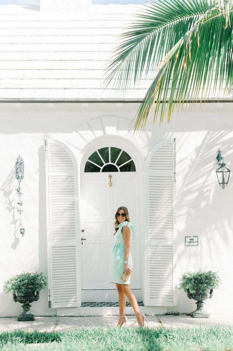 12177efe3c325 Beth from Palm Beach Lately in the Camilyn Beth  Go Go  Dress in Mint.