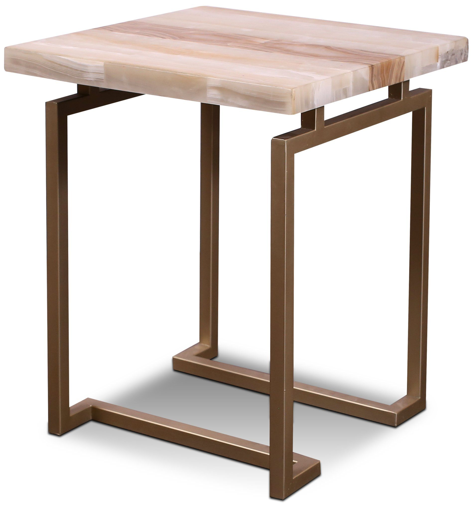 Onyx And Gold End Table Spectrum Gold End Table End Tables Rc Willey Furniture [ 2026 x 1899 Pixel ]