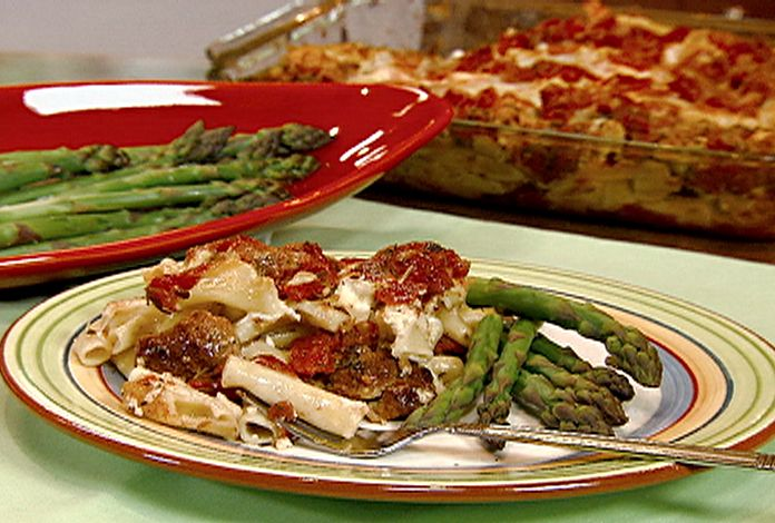 Baked Ziti With Sweet Turkey Sausage Recipe The Duchess Dines