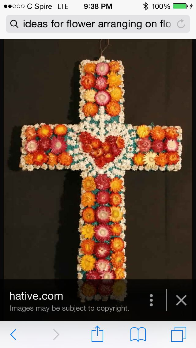Inspired by the cross!