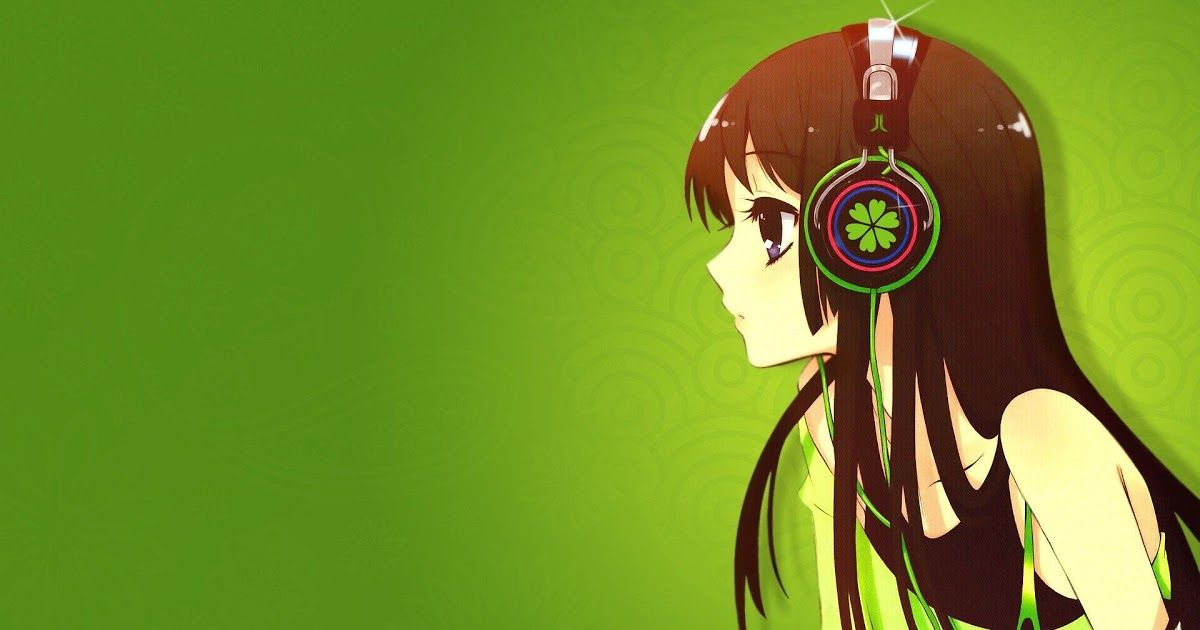 11 Wallpaper Anime Headphone Hd Anime Headphones Wallpapers Top Free Anime Headphones Download Wallpaper Anime Girls Black Hair Headphones Rail Wars Dow