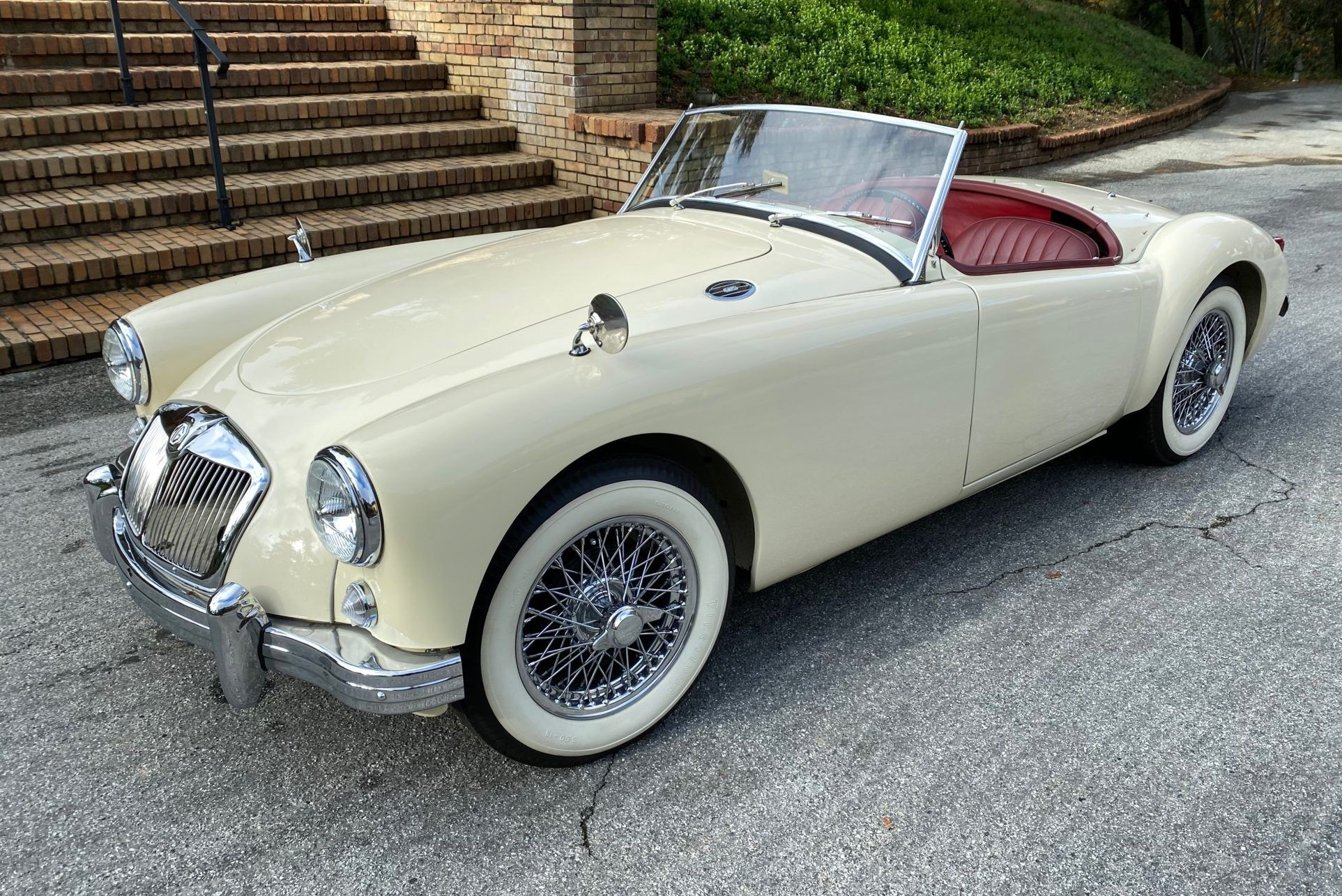 1956 Mg Mga Roadster Roadsters Classic Cars Online Tonneau Cover