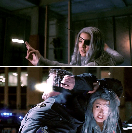 Chelsea Zhang As Rose Wilson Ravager In Titans Season 2 Rose Wilson Latest Trailers Titans Zhang, who will play rose wilson/ravager in titans season 2, teases her preparation for the role. pinterest