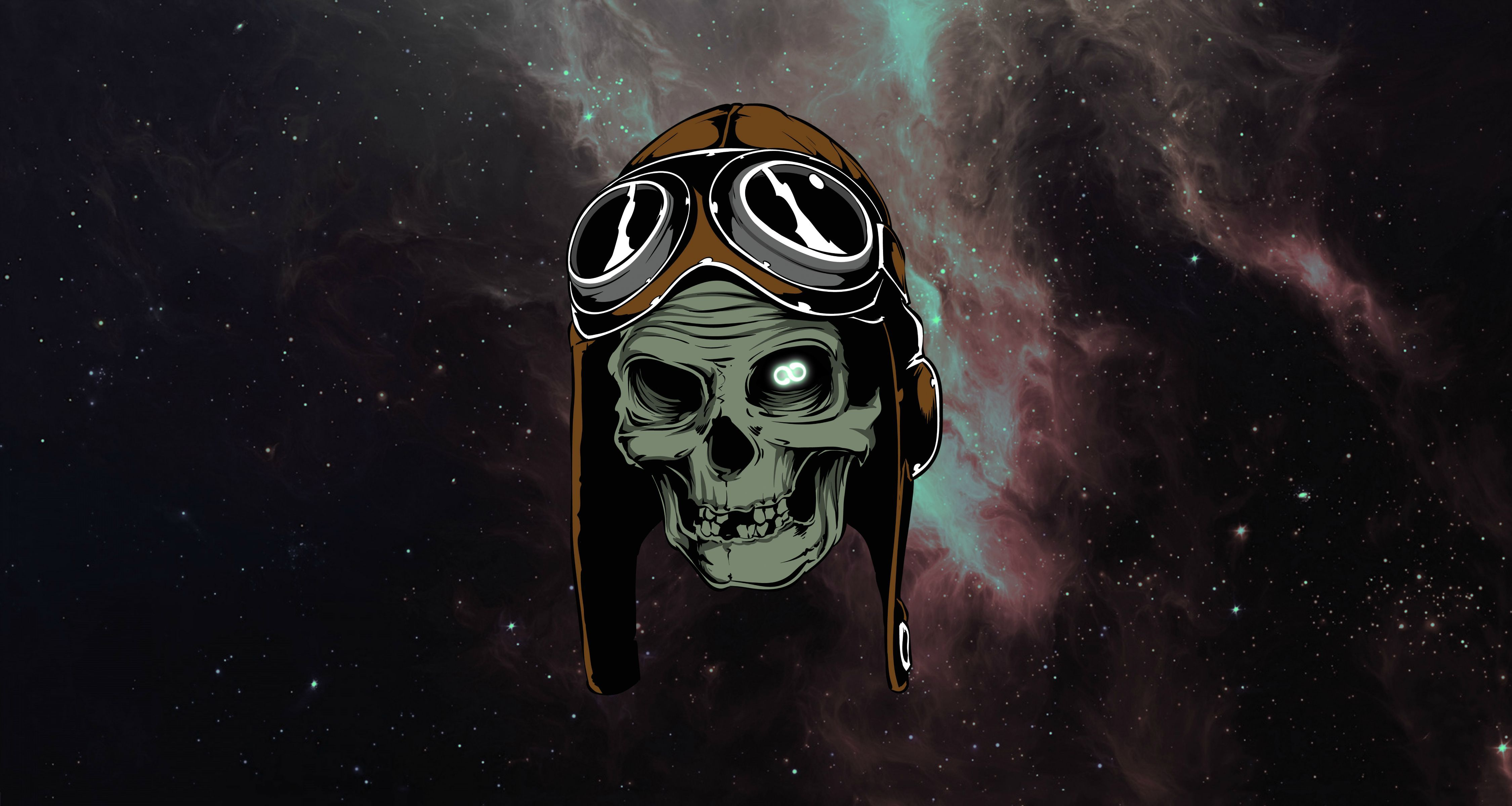 Infinity 7500x4000 Inspired By The B 17 Segment Of The Heavy Metal Movie R Wallpapers Skull Heavy Metal Movie Skull Wallpaper