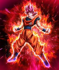 Goku Ssj Dios Rojo Busqueda De Google