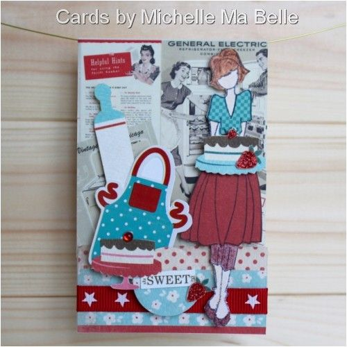 """Prima Julie Nutting Doll Stamp """"Sweet"""" Handmade Cards By"""