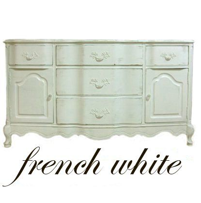 How To Paint French Provincial Furniture A Perfect White and many, many tried and true products and techniques discussed in this one article -- one of the single most informative articles I've read! #furnitureredos