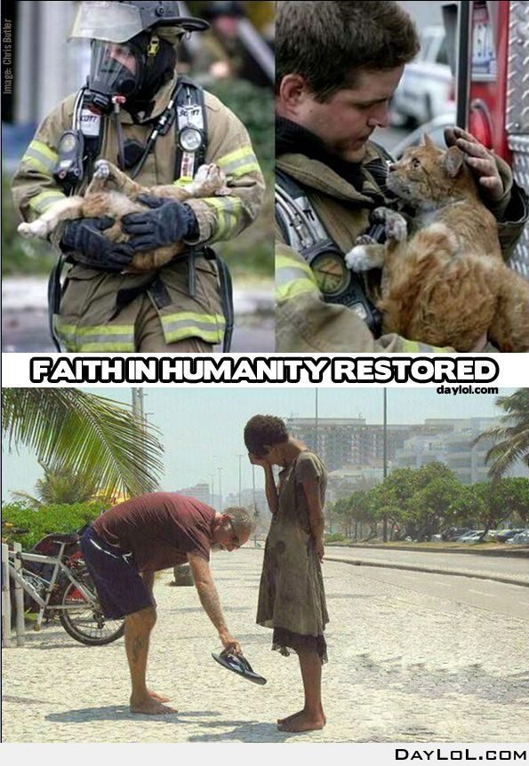 Faith in humanity restored - DayLoL.com - Your Daily LoL!