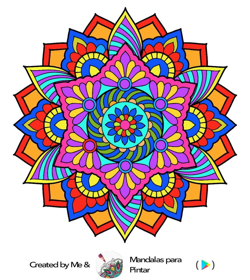 Pin De Daysi Anchecta En Mandalas Mandalas Mandalas Drawing Puntillismo Mandalas