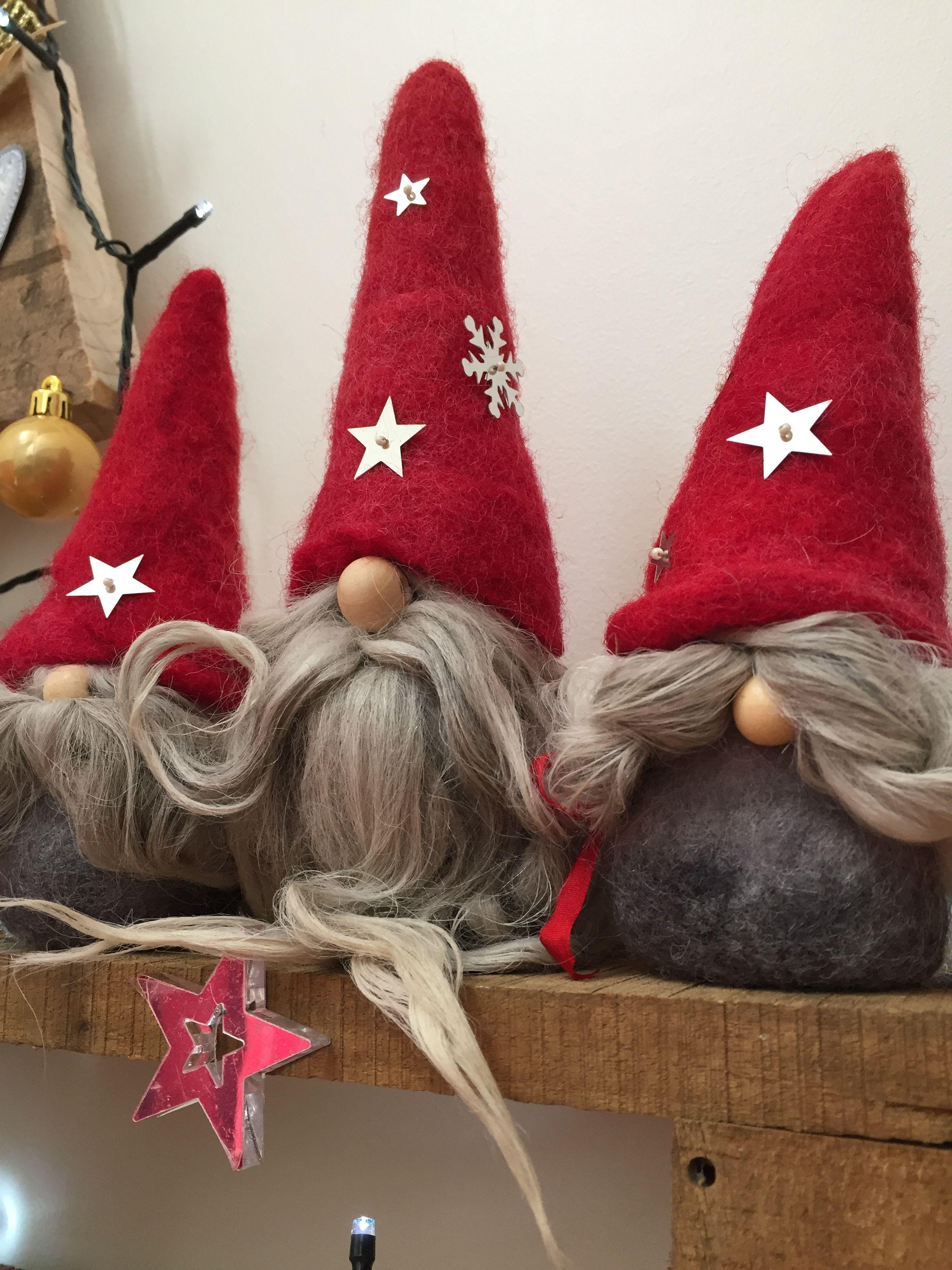 Gnomes gnomos pinterest gnomo navidad y duendes for Decoracion jardin gnomos