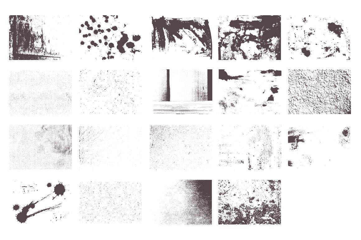 Grunge Vector Textures by Anna Ivanir on Creative Market