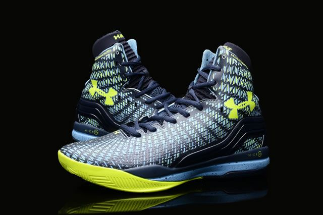 huge selection of 29e39 405f3 UA Curry 2 Under Armour Stephen Curry 2 Yellow Blue Shoes ...