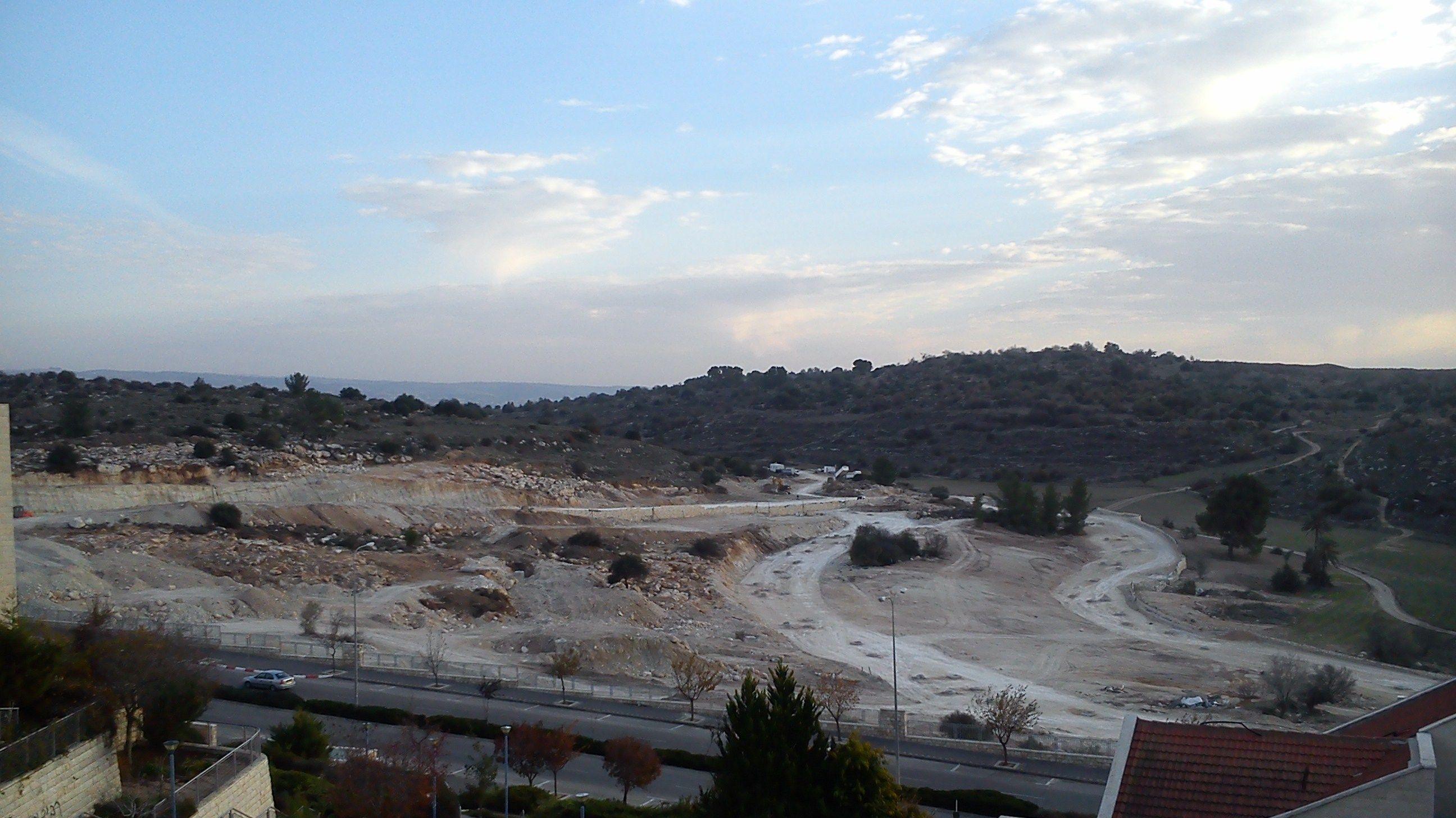 Beit Shemesh New Construction: New Town, Sun Valley, Construction Site