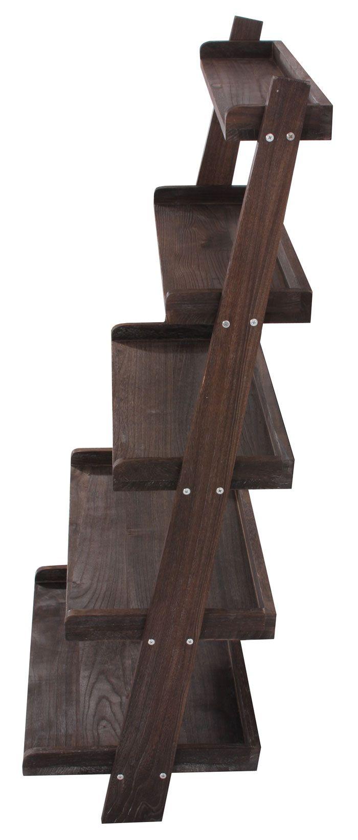 regal standregal pflanzregal blumenst nder 119x64x38cm shabby look vintage braun garten. Black Bedroom Furniture Sets. Home Design Ideas