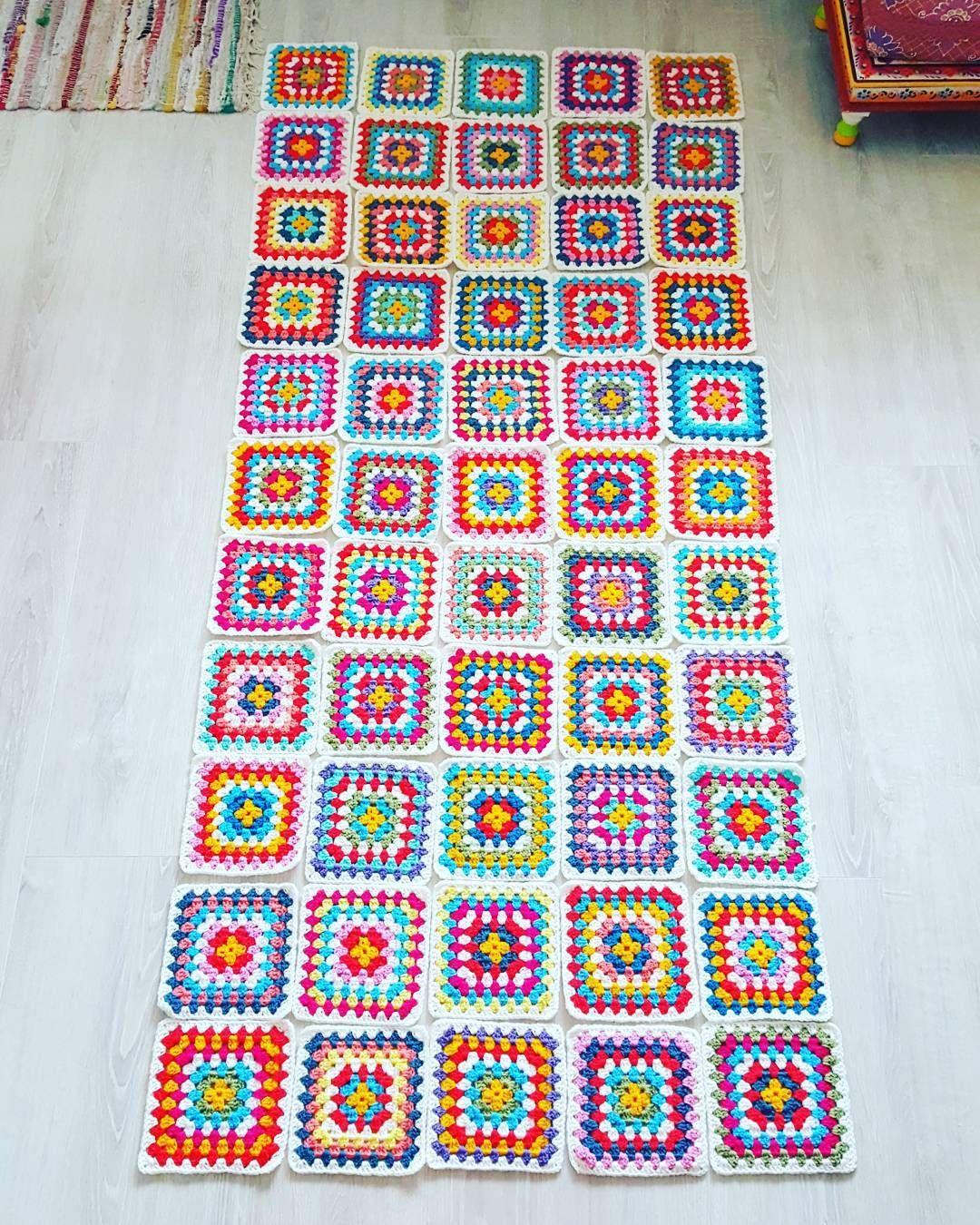 Puzzle #grannysquare #grannysquareblanket #stylecraft #stylecraftspecialdk #crochetgirlgang #craftastherapy #sharethecrochet #crochet #haken #häkeln #virkat #happycolors #bohemiancrochet #colorfullife #lovecrochet #crochetersofinstagram