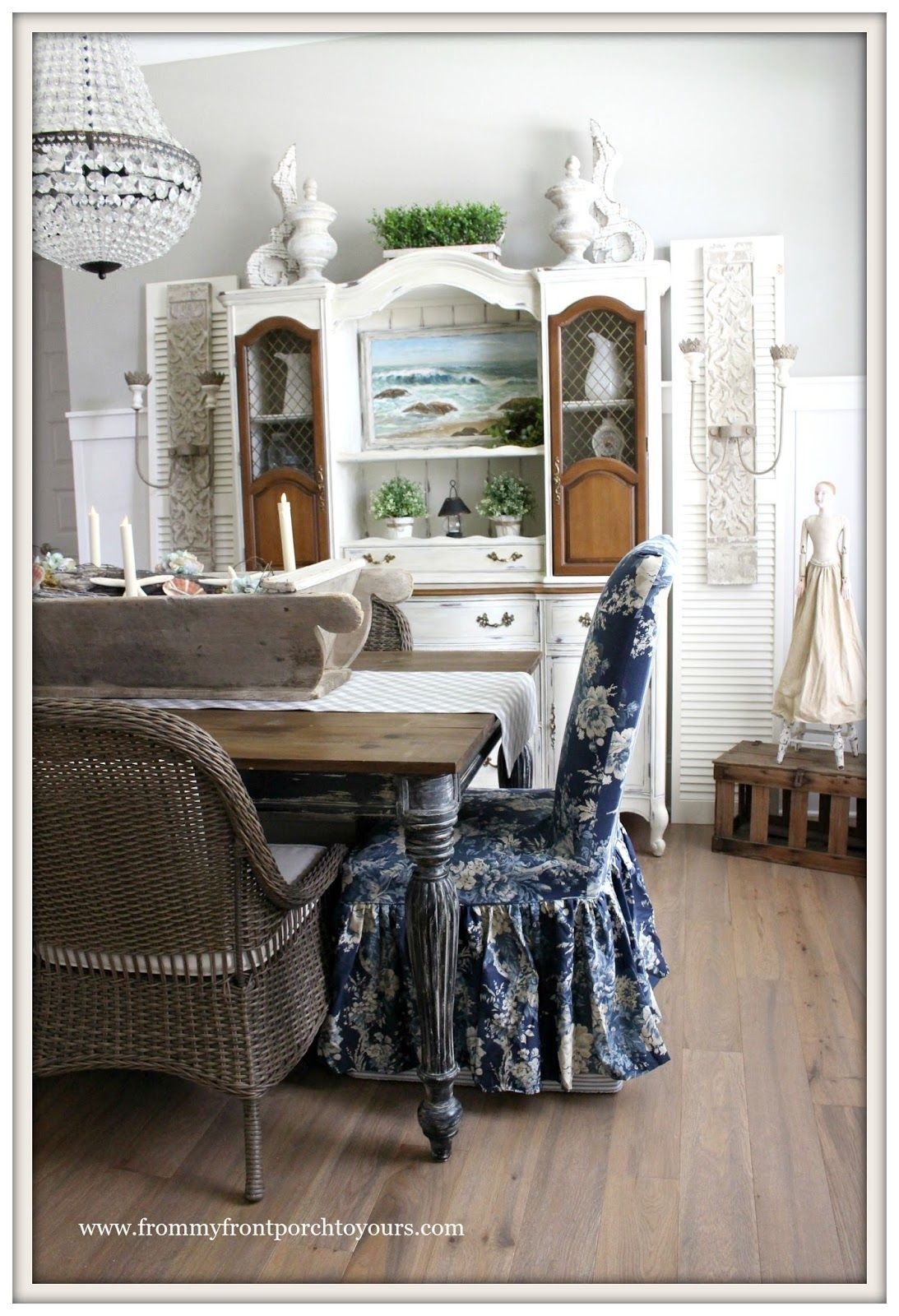 French Country Farmhouse Dining Room Reveal