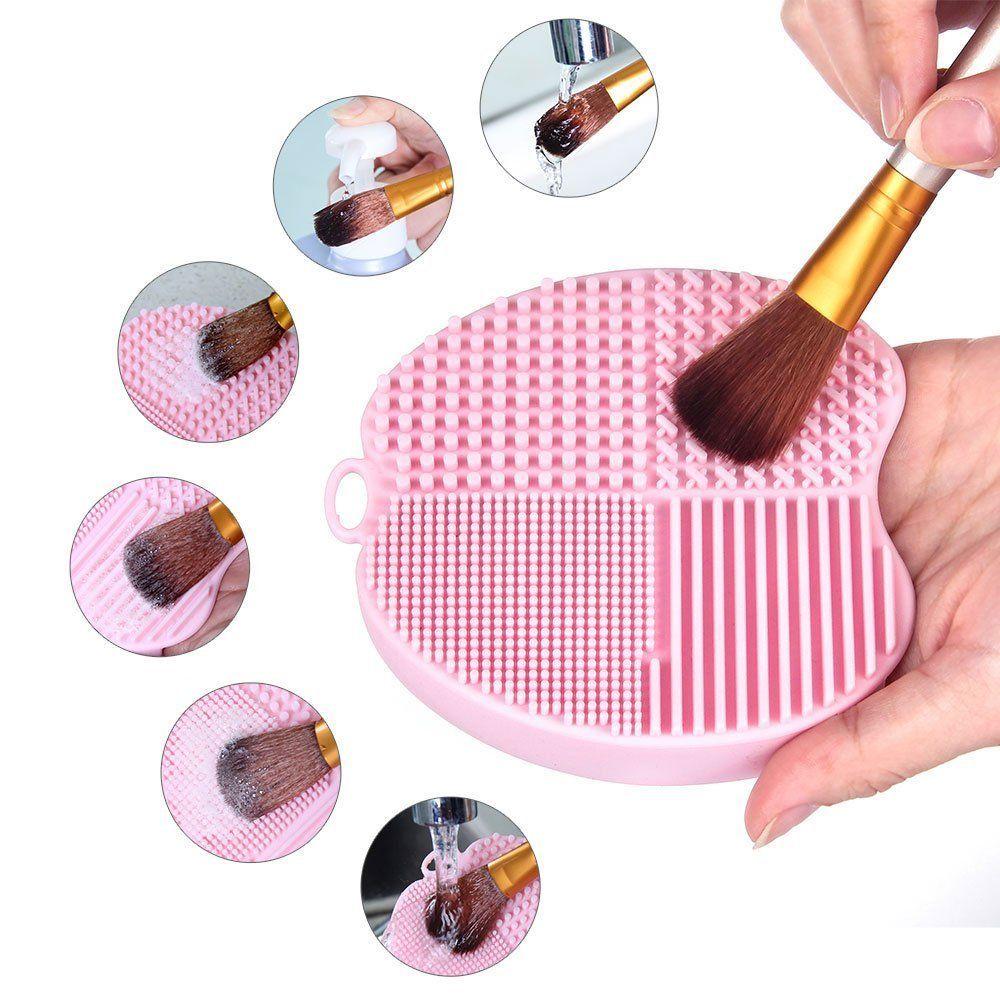 MelodySusie Apple Shape Makeup Brush Cleaner / Brush