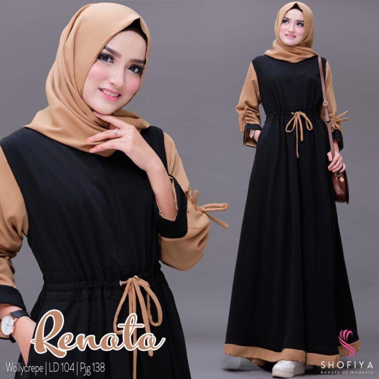 Model Baju Gamis Terbaru 2019 Untuk Remaja Mode Abaya Model Pakaian Muslim Pakaian Model